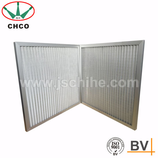 Aluminum Alloy Air Panel Filters for Room Air Intake pictures & photos