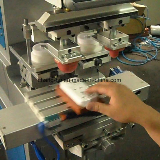 T-Shirt Neck Lables Pad Printing Machine pictures & photos