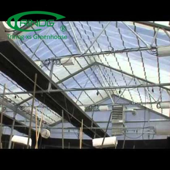 Full automated blackout shading greenhouse for medical hemp planting