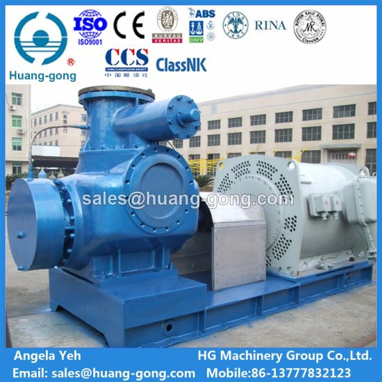 Huanggong Machinery Twin Screw Pump 2hm9800-80 pictures & photos