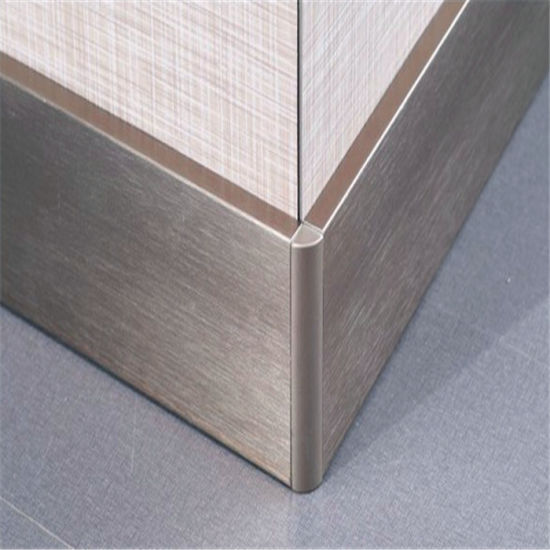 China Stainless Steel Tile Corner Protector Trim Pieces L Shape