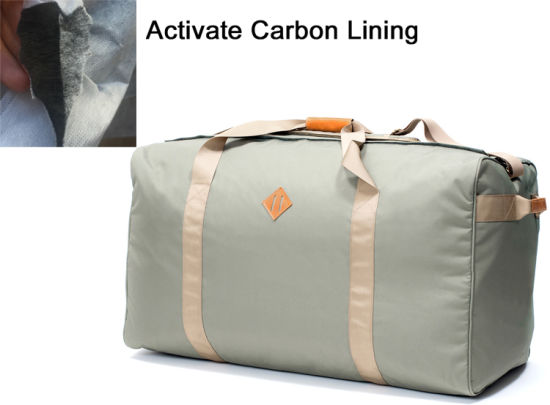 Smell Proof Travel Bag with Activated Carbon Lining
