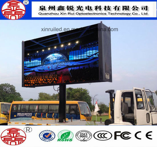 High Quality Outdoor P10 Full Color SMD LED Display for Advertising