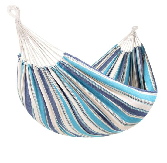 Outdoor Cotton Poly Handmade Swing Bed, Outdoor Bed Hammock
