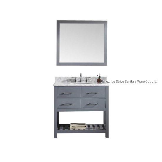 China Small Bathroom Vanities And Sinks China 36 Inch Wood Cabinet Bathroom Vanity