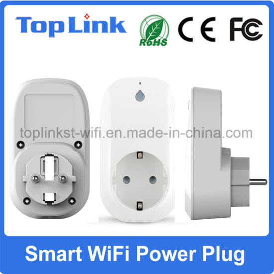 Wireless Smart Power WiFi Switch Wall Socket Support Alexa for Remote Control pictures & photos