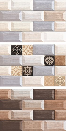 Glazed Ceramic Wall Tiles 25X40 (WP25412) pictures & photos
