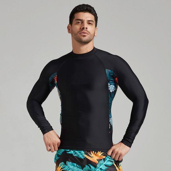 New Design Sportswear Wholesale Lycra Long Sleeve Custom Printed Sublimation Panel Rashguards