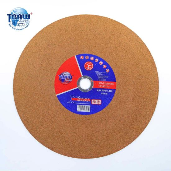 "Factory 14"" 350 (355) *3.0*25.4mm Abrasive Cutting Tool Cutting Wheels for Metal, Stainless Steel"