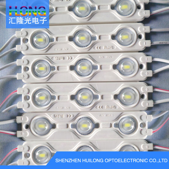 120mA DC12V SMD 5730 LED Module for Advertising Box / Letters/Light Boxes with Optical Lens