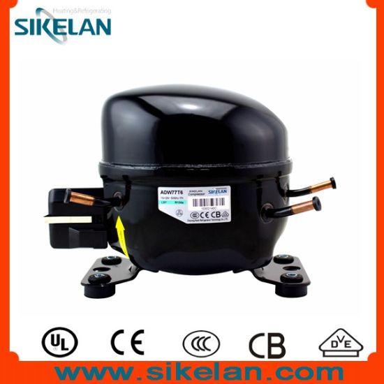 Refrigerator Compressor, Adw77t6, for Gas R134A, 110-120V/60Hz