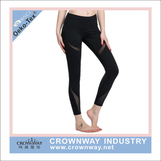 87e620fcfe173 Women Polyester Spandex Compression Pants Fitness Leggings pictures & photos