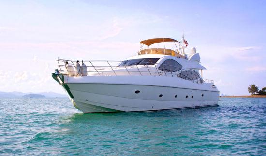 China New Best Luxury Lamberti 80 Yacht Boat for Sale