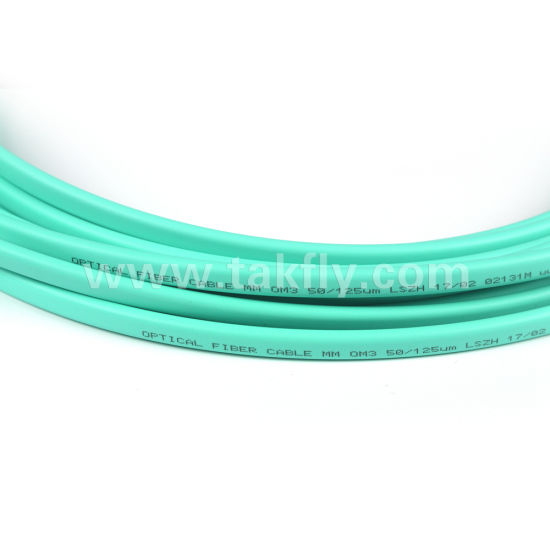 LC/Upc-Sc/Upc Singlemode Multimode Duplex Flat 45 Degree Boots Fiber Optic Patchcord pictures & photos