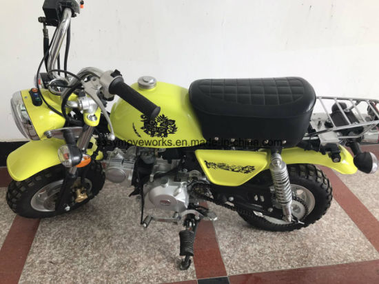 Zhenhua Monkey Motorcycle EEC Euro4 50cc 4strokes Elec