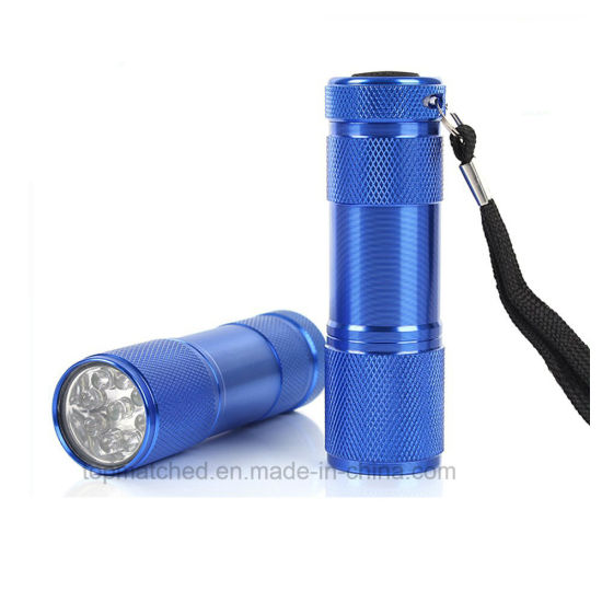 Pocket Light Promotional Gift LED Mini Torch Flashlight LED Grow Purple Light pictures & photos