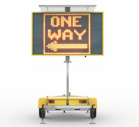 Mobile Solar Powered Outdoor Programmable LED Moving Message Display Sign Screen