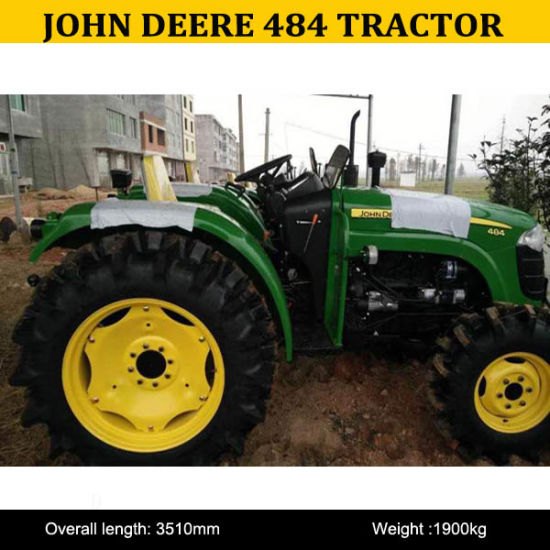 John Deere New Tractors 484, John Deere Tractor Cab 484, John Deere 4X4  Tractor 484