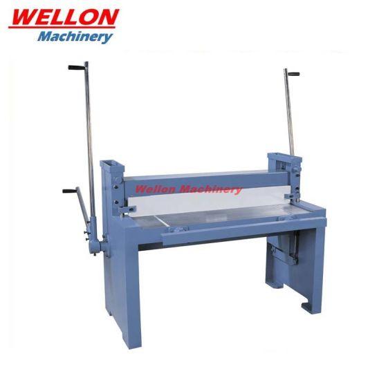 Manual Sheet Metal Shearing Machine (Q01-1.5X1500 / Q01-1.5X1050) Hand Metal Plate Shear Machine
