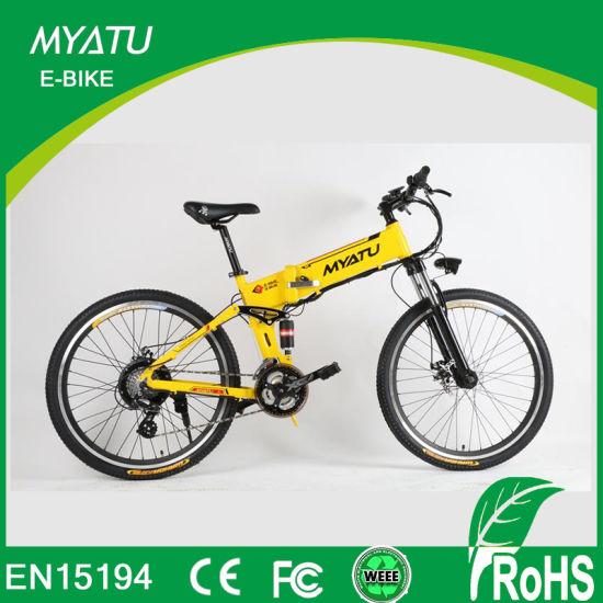 b363e854be2 36V, 10.4ah Motorized Foldable Mountain E Electric Bike pictures & photos