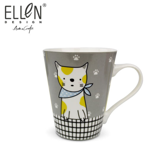 Promotional Gift Lovely Cat Ceramic Coffee Mug
