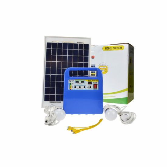 Hot Sale in UK 10W Solar Lighting Kit for Solar Home Lighting System pictures & photos