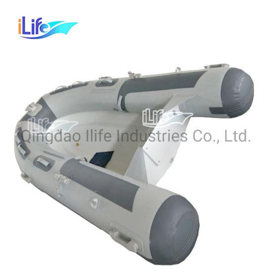 Ilife China Factory PVC Material Rigid Inflatable Fiberglass Rib 270 Boat