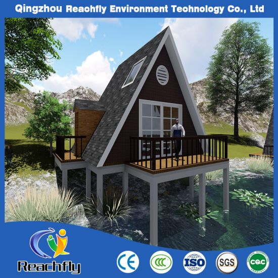 Low Cost DIY Beach House Style Prefabricated House Kits