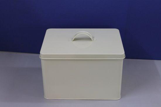 Galvanized Storage Tin Storage Can