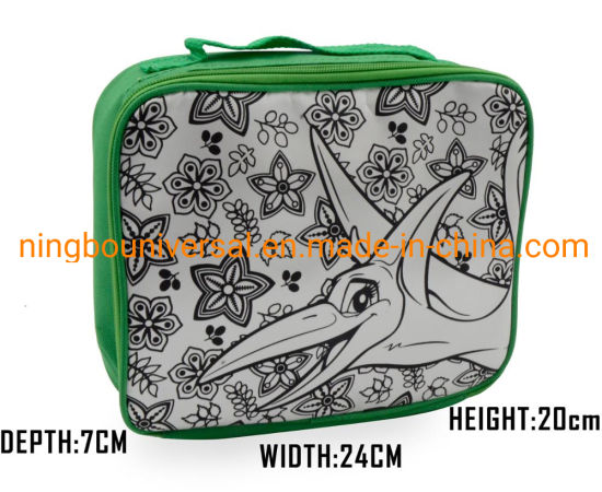Promotion Customized Design Fashion Insulated Kids Lunch Bag