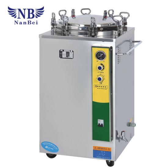 35L Hand Round Vertical Pressure Steam Sterilizer with Ce