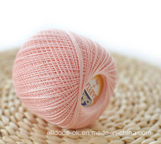 Hand Knitting Crocheting Yarn Embroidery Lace Crochet Doll Cotton Thread pictures & photos