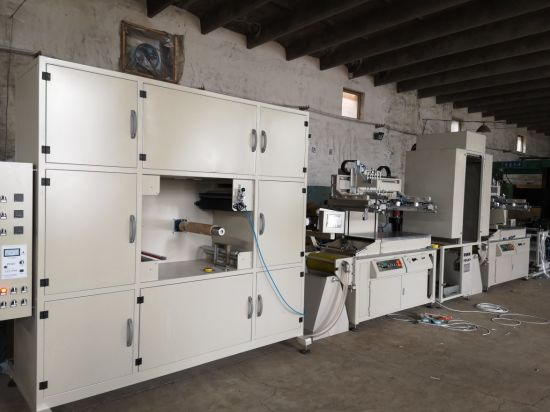 Seamless Series Roll to Roll Screen Printing Machine