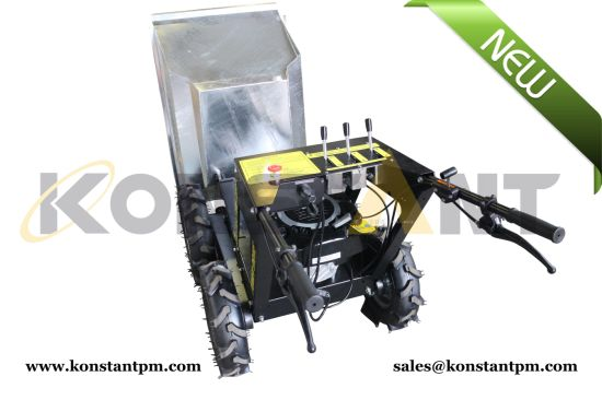 China Hydrostatic Transmission Mini Dumper, Wheel Loader