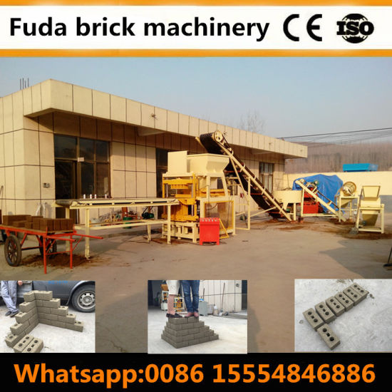 Clay Brick Machine Manufacturer Automatic Compressed Earth Brick Making Plant pictures & photos