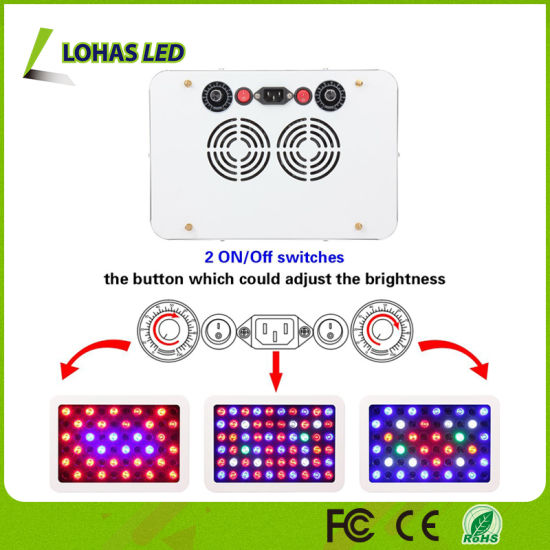 300W Dimmable Full Spectrum LED Plant Grow Light for Veg and Bloom pictures & photos