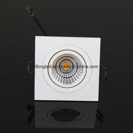Most Selling Aluminum Lamp Body Recessed Down Light Fire Rated Downlight