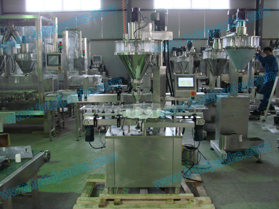 Automatic Bottle Filling Machine for Powder (PF-100A) pictures & photos