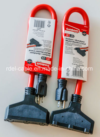 Heavy Duty Extension Cord Is Perfect for Multiple Indoor/Outdoor pictures & photos