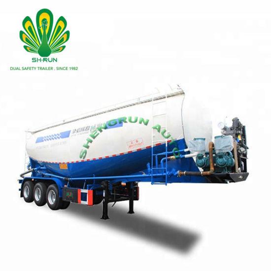 Tank Semi Trailer/Tanker Trailer for Transporting Powder Materials