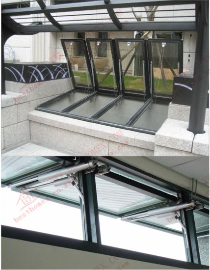 Electrical Awning Window/Automated Aluminium Window (BHA-AW05) pictures & photos