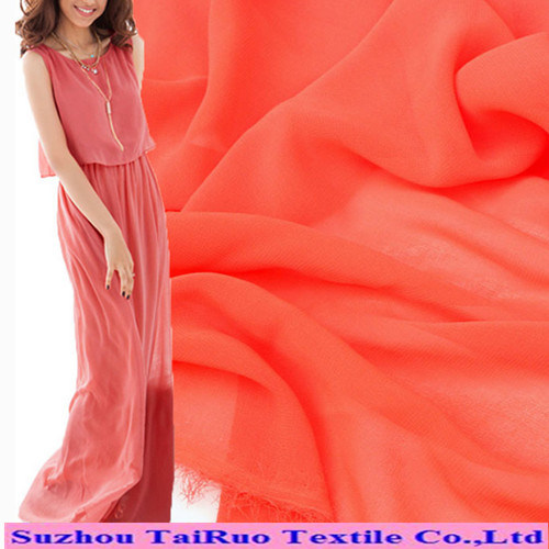 Polyester Colorful Chiffon Fabric for Long Dress Chiffon New Style pictures & photos
