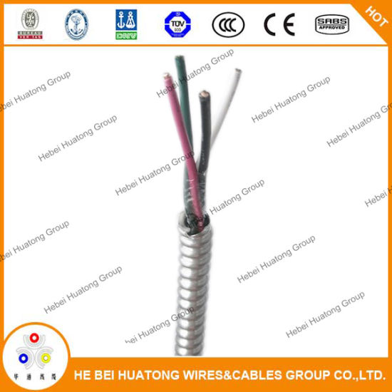 China Copper Mc Cable Metal Clad Copper Electrical Wire with Thhn ...