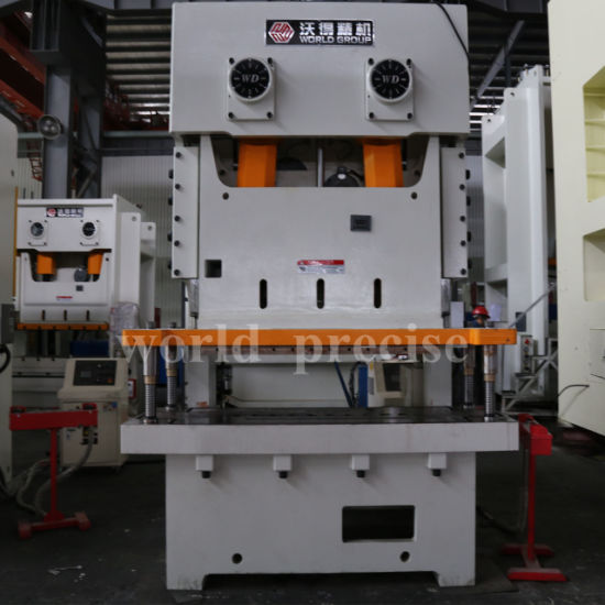 China C Type Mechanical Power Press with Die Quick Change Device for