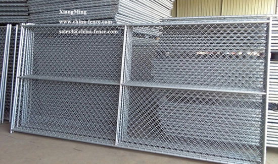 China Galvanized Chain Link Fence Prices Metal Fence Chain Link