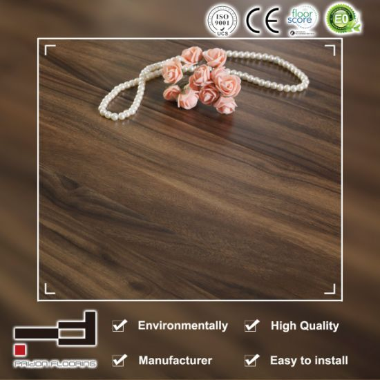 8mm German Techology V-Bevelled Embossment Surface Laminate Flooring pictures & photos
