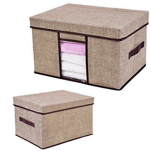 Eco-Friendly Foldable Fabric Storage Box