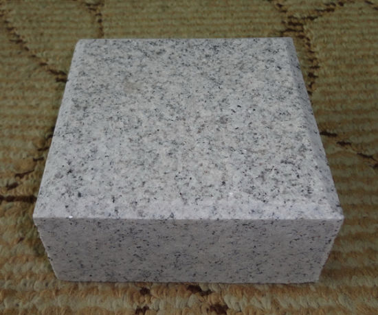 Cheap Grey G603 Granite Paver Cubes Blind Stone Pavers pictures & photos