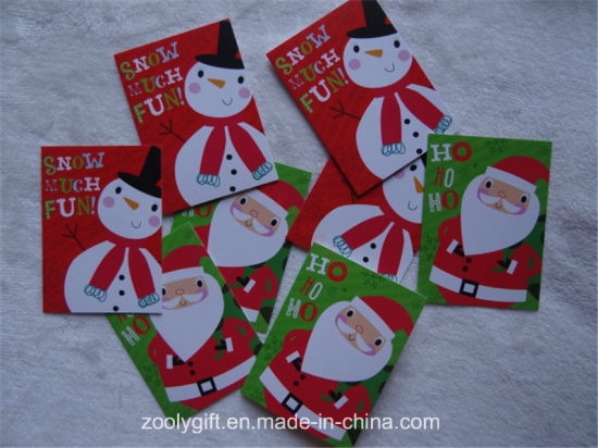 Customized 27 Cards 3 Design Christmas Greeting Gift Cards