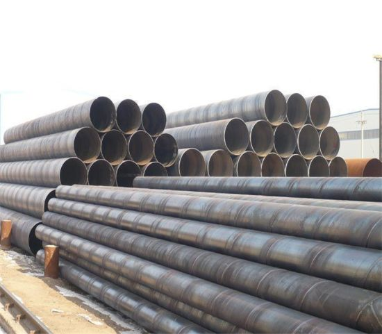 Supply by Tianjin Spiral Welded Steel Pipes/Big Diameter SSAW Pipe! Helical Welded Pipe pictures & photos